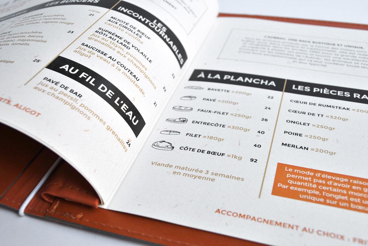 Menu Restaurant L Aubrac